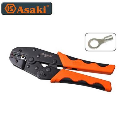 Kềm bấm đầu cosse tròn Asaki AK-9121