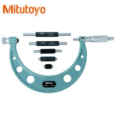Panme đo ngoài cơ khí Mitutoyo 104-140A