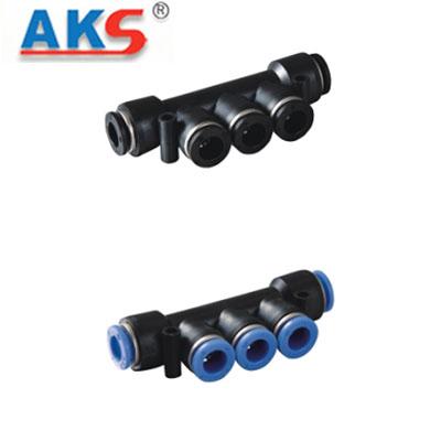 Cút nối nhanh khí nén chia 5 AKS APK