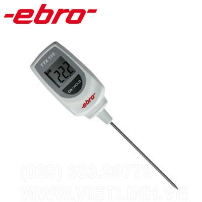 Máy đo nhiệt độ điện tử Ebro TTX 110