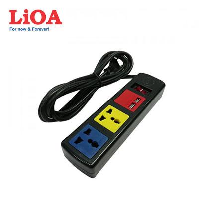 Ổ cắm đa năng LiOA 3D32NUSB
