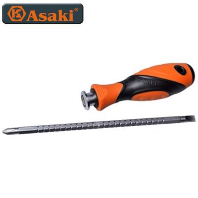 Tua vít thép 2 đầu cao cấp Asaki AK-6992