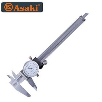 Thước cặp đồng hồ inox Asaki AK-2907