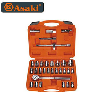 "Bộ tuýp 1/2"" 32 chi tiết Asaki AK-9773"