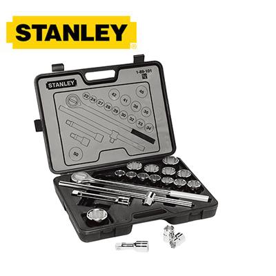 """Bộ tuýp 19 chi tiết 3/4"""" Stanley 89-133"""
