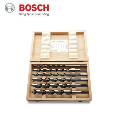 Bộ mũi khoan gỗ 6 cây Bosch 2607019322