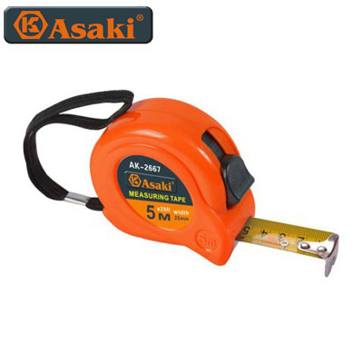 Thước kéo nền vàng Asaki AK-2666