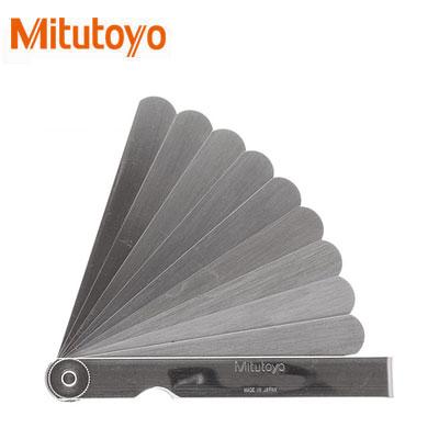 Dưỡng đo độ dày 10 lá Mitutoyo 184-306S