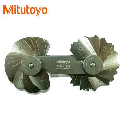 Dưỡng đo bán kính 32 lá Mitutoyo 186-106