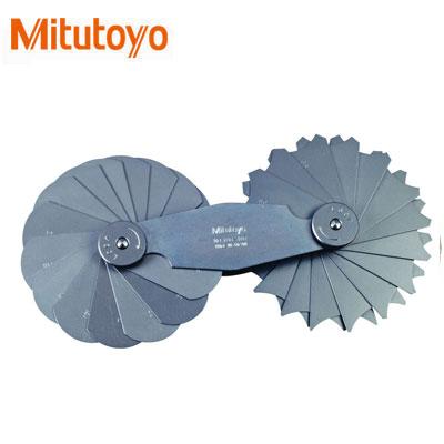 Dưỡng đo bán kính 30 lá Mitutoyo 186-107