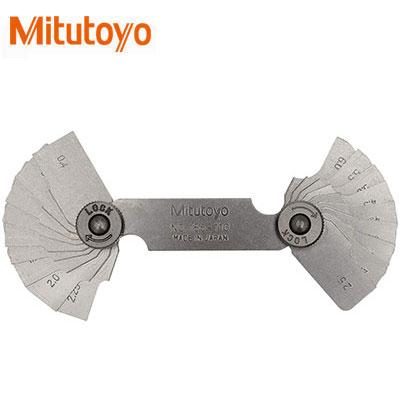Dưỡng đo bán kính 18 lá Mitutoyo 186-110