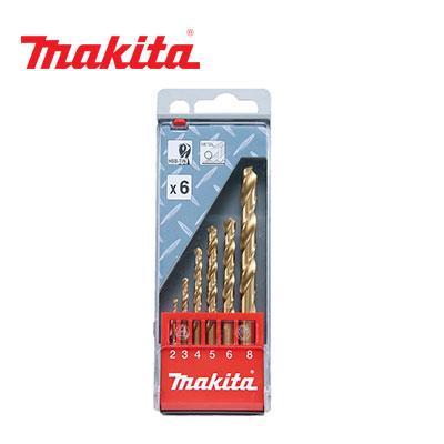 Bộ mũi khoan 6 mũi Makita D-43555