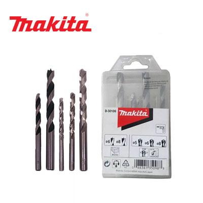 Bộ mũi khoan gỗ và sắt Makita D-30106