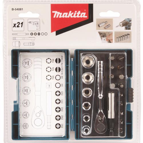 Bộ khẩu 21 chi tiết Makita B-54081