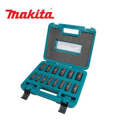 """Bộ tuýp đen 3/8"""" 14 chi tiết Makita B-55550"""