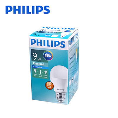 Bóng LED bulb Philips Essential 9W E27