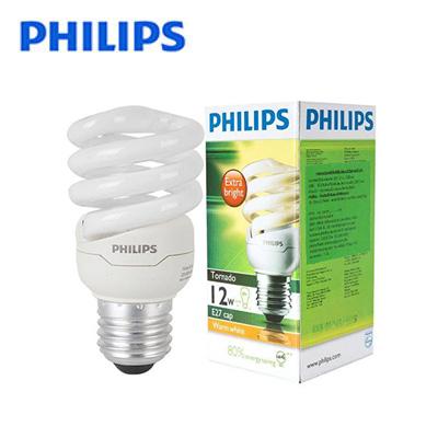 Bóng đèn Compact Philips Tornado 12W