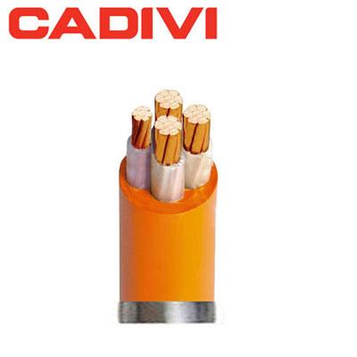 Cáp điện chậm cháy Cadivi CXV/FRT-4x1.5