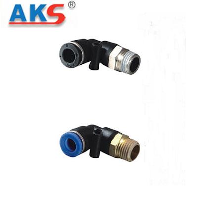 Cút nối góc ren ngoài thân ngắn AKS APL