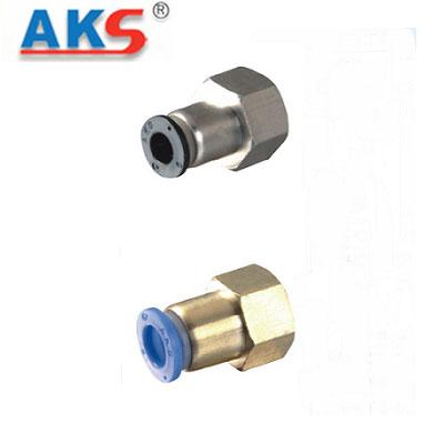Cút nối thẳng ren trong AKS APCF
