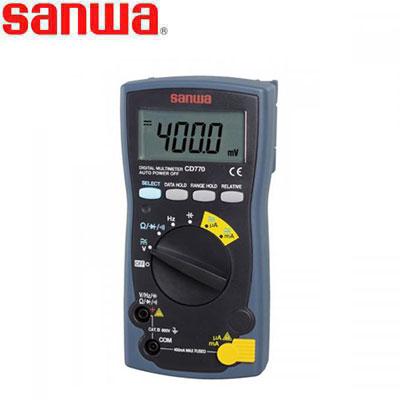 Đồng hồ vạn năng chỉ thị số Sanwa CD770