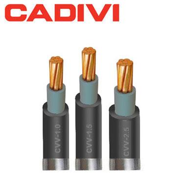 Dây Điện Đơn Cadivi CVV 1.5 - 0,6/1 KV