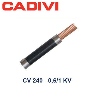 Dây Điện Đơn CV 240 Cadivi - 0,6/1 KV