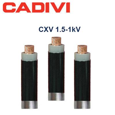 Dây Cáp Điện Cadivi CXV-1.5 - 0,6/1 KV