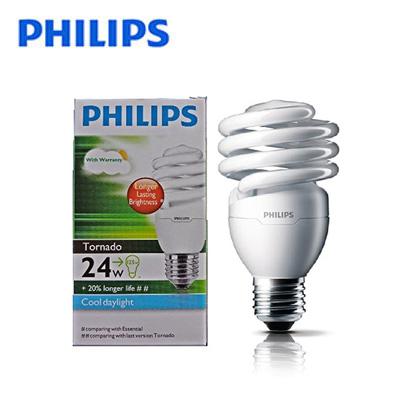 Bóng đèn Compact Philips Tornado 24W