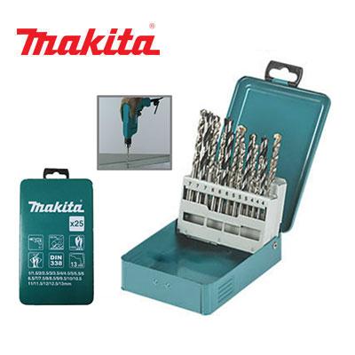 Bộ mũi khoan sắt 25 mũi Makita D-54031