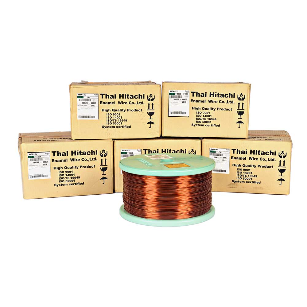 Dây đồng tráng men Thái Hitachi AMW-XV