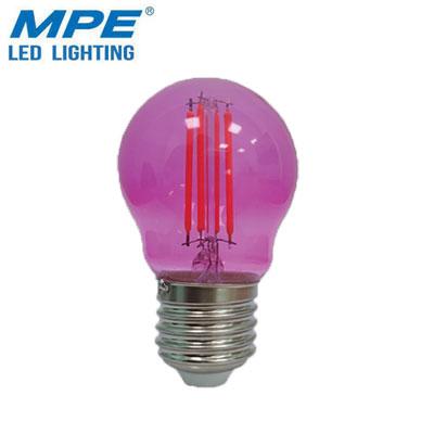 Bóng đèn LED hồng MPE 2.5W FLM-3PK