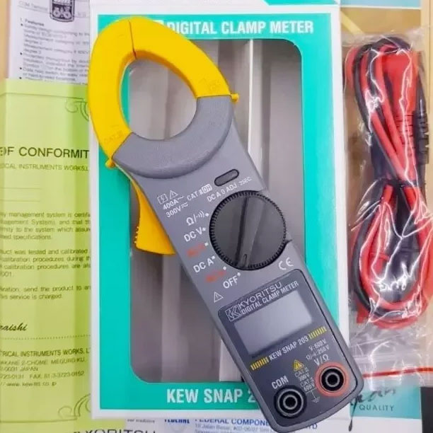 Ampe kìm Kewtech Kyoritsu KT203 (400A)
