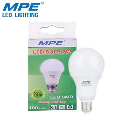 Bóng đèn LED bulb MPE 7W LBA-7T