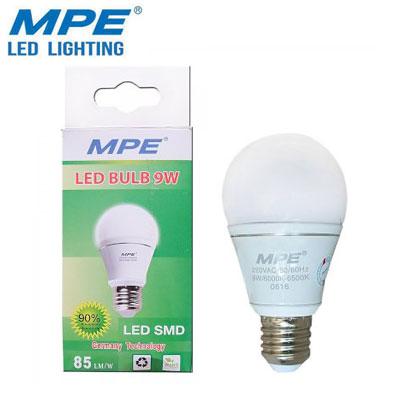 Bóng đèn LED bulb MPE 9W LBA-9V