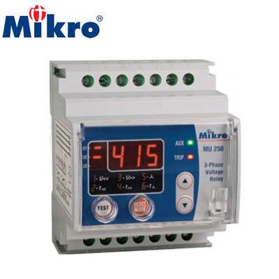 Rơ le bảo vệ điện áp Mikro MU250-415V