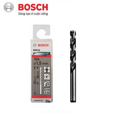 Mũi Khoan Sắt D1.5 Bosch 2608595050