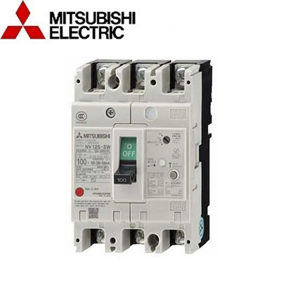 Aptomat (MCCB) Mitsubishi 3P NV125-SV