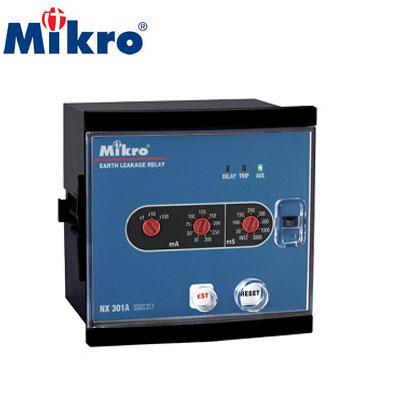Rơ le bảo vệ dòng rò Mikro NX302A-240A