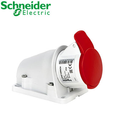 Ổ cắm gắn nổi Schneider 3P PKF16W434