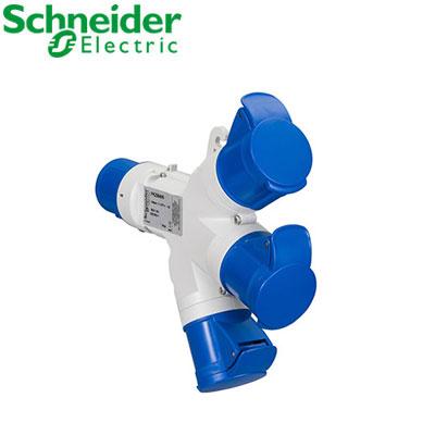 Ổ cắm nối 3 ngã Schneider 2P PKZM409
