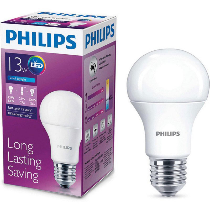 Bóng đèn LED Bulb Philips 13W E27