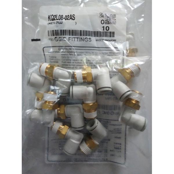 Đầu nối nhanh hệ mét SMC KQ2L08-02AS