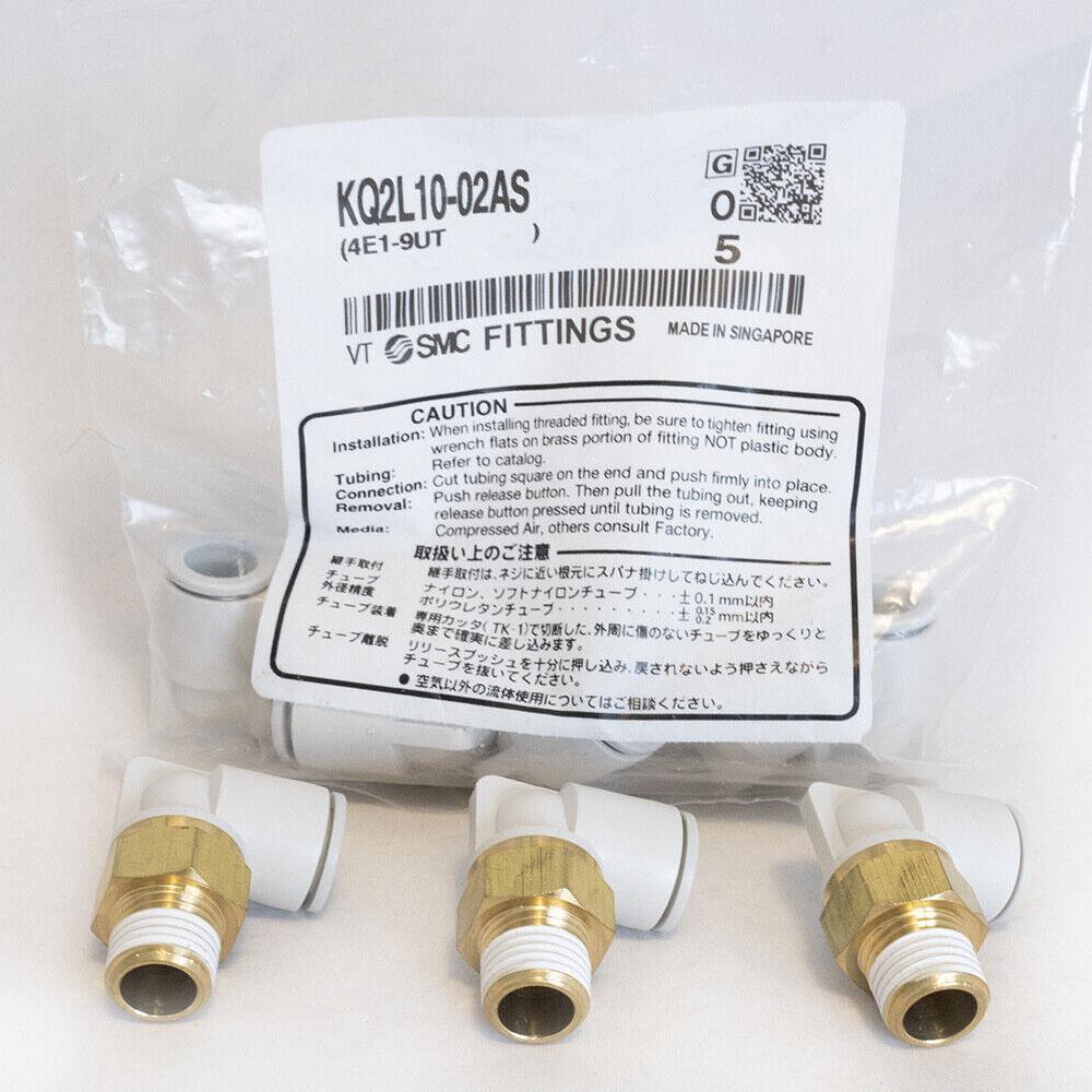 Đầu nối nhanh hệ mét SMC KQ2L10-02AS