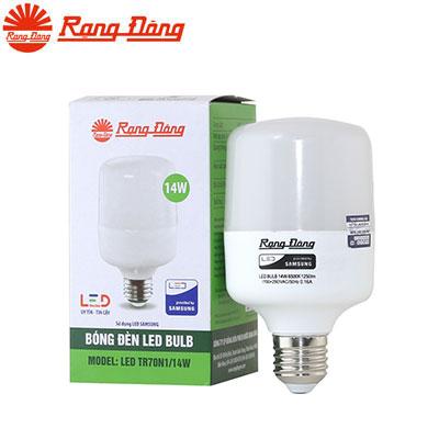Đèn Led bulb Rạng Đông TR70N1/14W