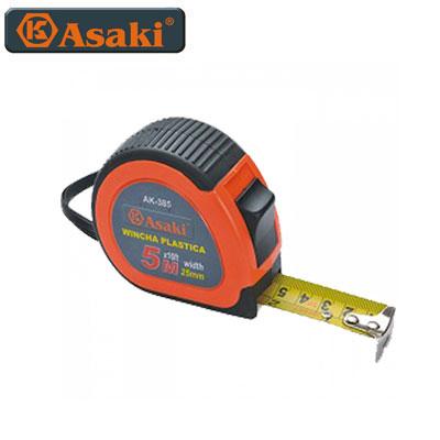 Thước kéo nền vàng Asaki AK-0383