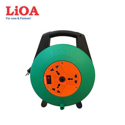 Ổ cắm quay tay LIOA XTD10-2-15A