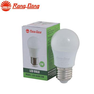 Đèn Led bulb Rạng Đông 3W A45N1/3W