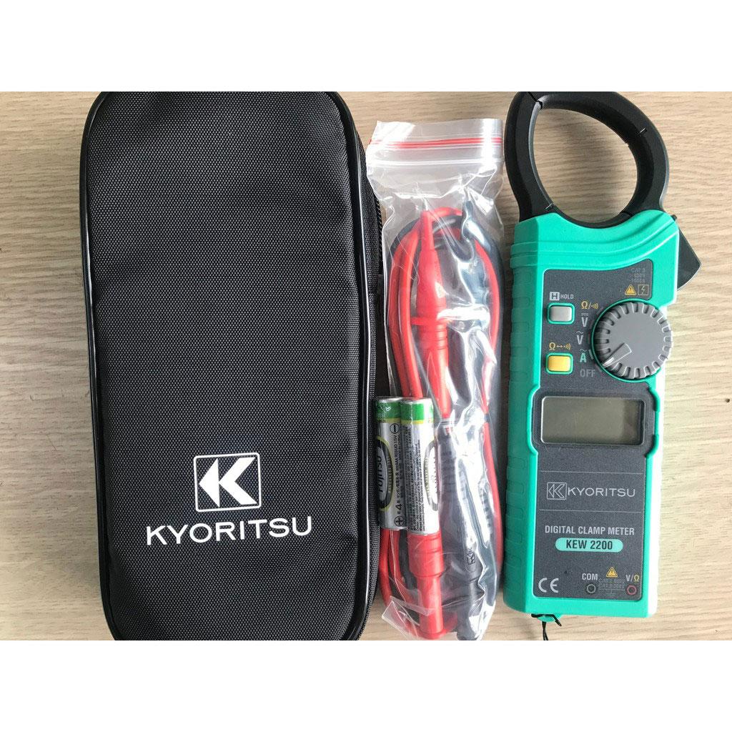 Ampe kìm đo dòng Kyoritsu 2200R