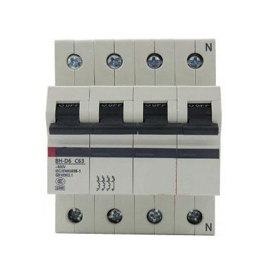 Aptomat (MCB) Mitsubishi BH-D10 4P 0.5A
